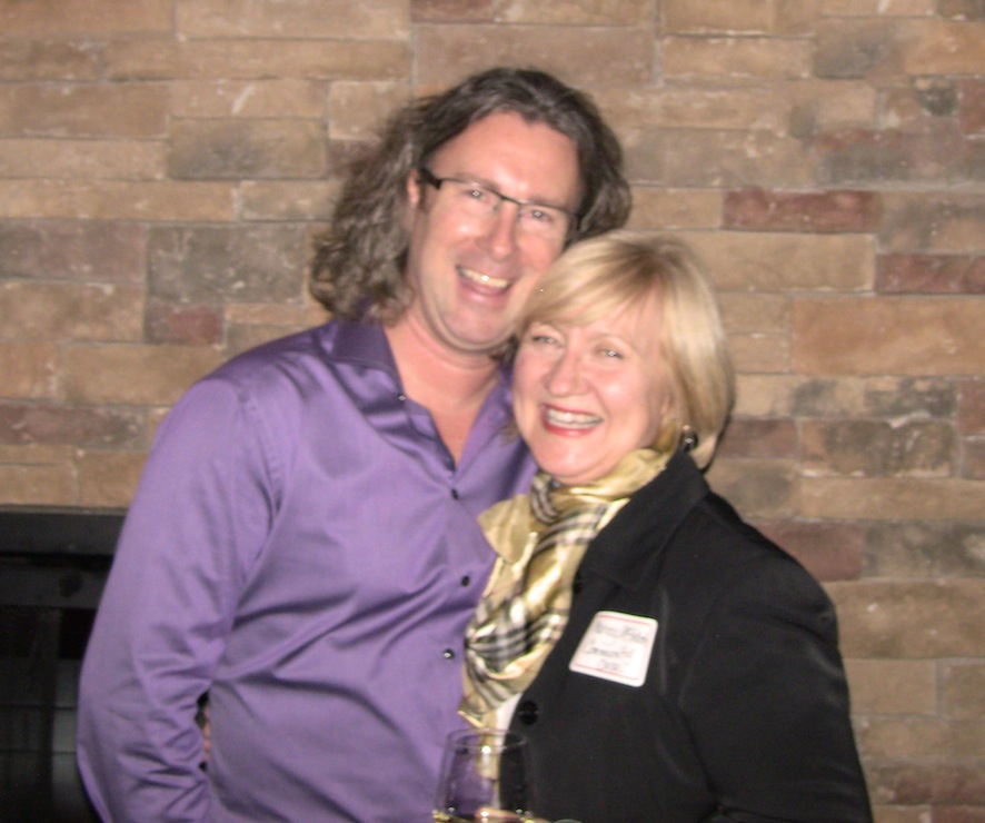 Timothy with Nancy McIntosh (Community & Development Coordinator for Community Care, St. Catharines & Thorold) at recent Customer Appreciation Party