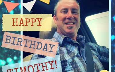 Happy Birthday Timothy!