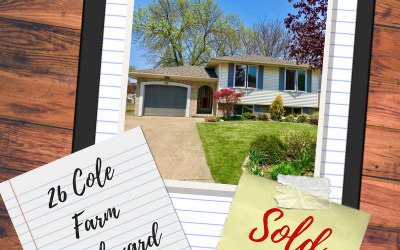 26 Cole Farm Boulevard is SOLD FIRM!