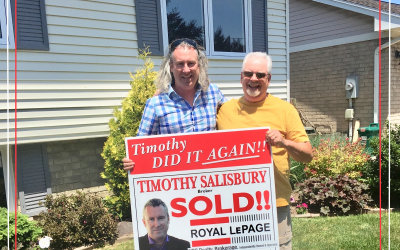 """The house is sold! Thanks to Timothy and his Team!"""