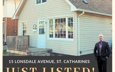 Just listed: 15 Lonsdale Avenue, St. Catharines