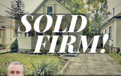 Another home sold firm!