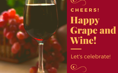 Happy Grape and Wine!