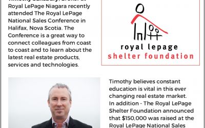 Royal lePage activities!
