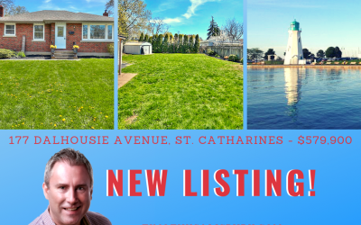 JUST LISTED! 177 Dalhousie Avenue, St. Catharines