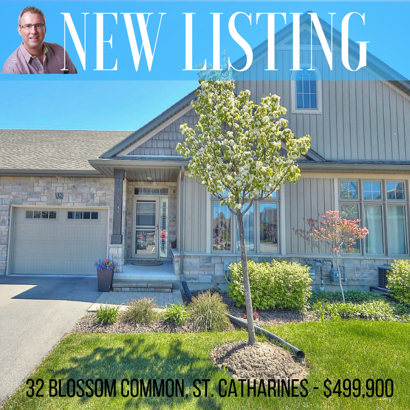 New listing! 32 Blossom Common, St. Catharines
