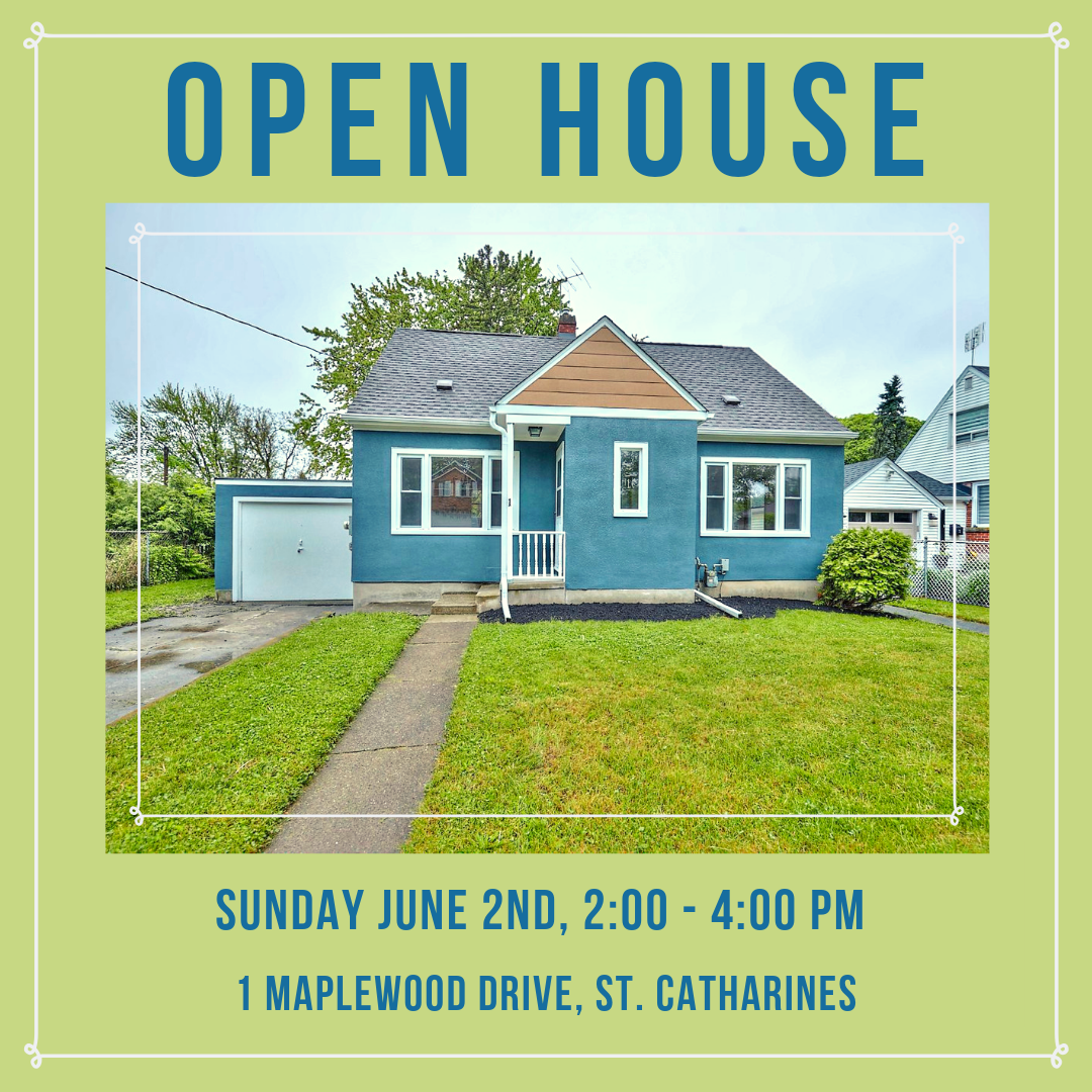 OPEN HOUSE: 1 Maplewood Drive, Sunday June 2nd, 2:00 – 4:00 PM!