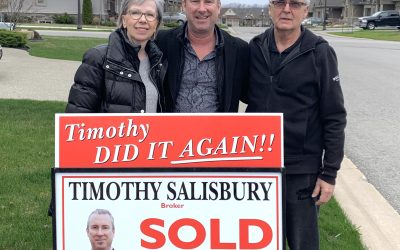 """""""We are thrilled with the SOLD sign on our front lawn!"""""""