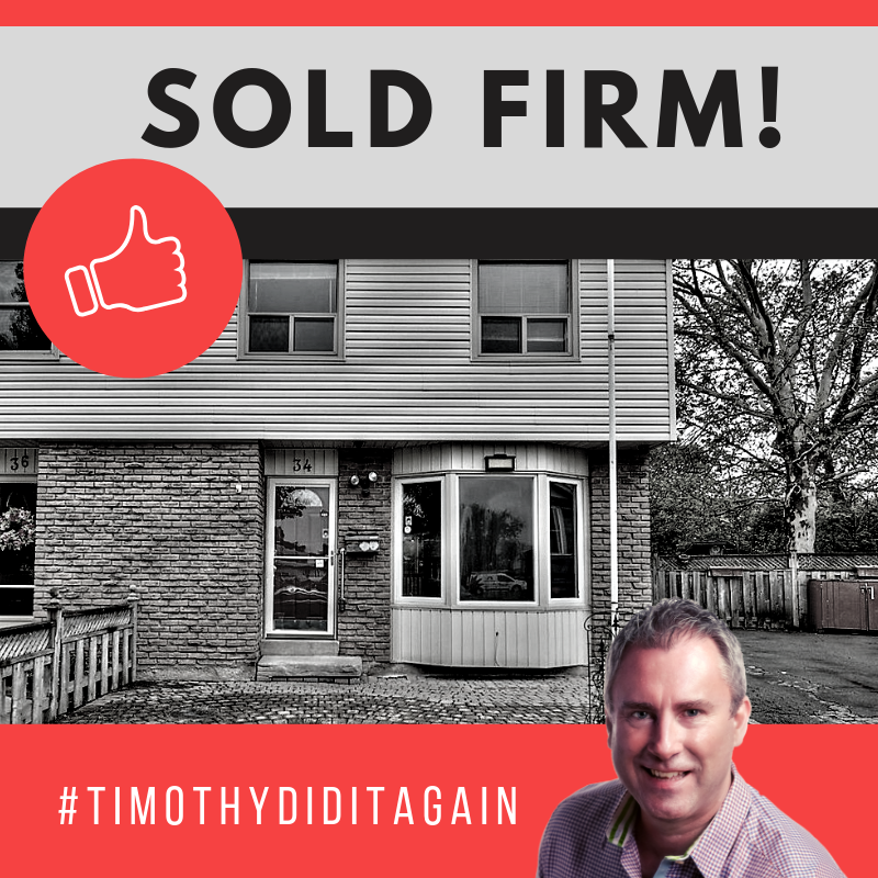 34 Garfield Lane is sold firm!