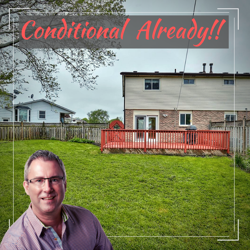 34 Garfield Lane is conditional already!