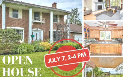 OPEN HOUSE, SUNDAY JULY 7, 2:00 – 4:00 PM