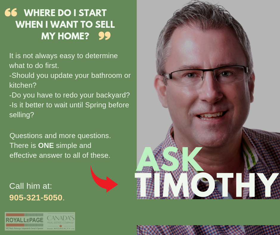 """""""Where do I start when I want to sell my home?"""""""
