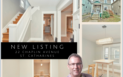 NEW LISTING: 22 Chaplin Avenue, St. Catharines