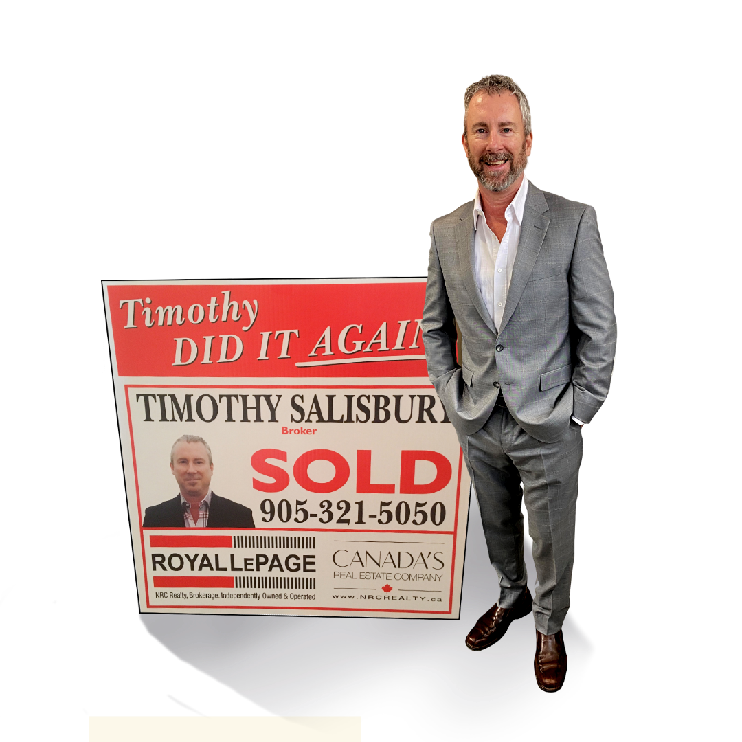 Timothy Salisbury - Royal LePage - Canadas Real Estate Company - Timothy Salisbury Real Estate Agent - Real Estate Broker - NRC Realty - NRCRealty.ca - St Catharines Real Estate