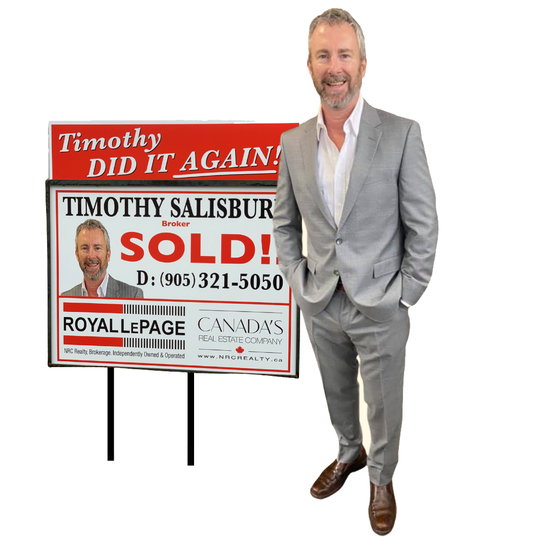 St Catharines Real Estate - Timothy Salisbury - SOLD - Timothy Did It Again