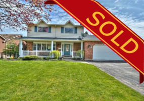 Fonthill, L0S 1E2, 4 Bedrooms Bedrooms, ,3 BathroomsBathrooms,Detached,Sold,6 Vista Drive,1053